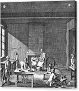 Needle-making, 1751-1780 Acrylic Print