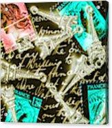 Neo Romantics Acrylic Print
