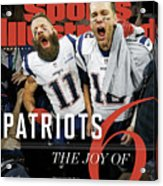 New England Patriots, Super Bowl Liii Champions Sports Illustrated Cover Acrylic Print