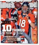 New Jersey Bound Super Bowl Xlviii Preview Issue Sports Illustrated Cover Acrylic Print
