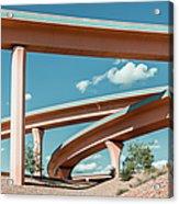 New Mexico Albuquerque Interstate Acrylic Print
