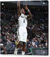 New Orleans Pelicans V Milwaukee Bucks Acrylic Print
