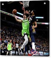 New Orleans Pelicans V Minnesota Acrylic Print