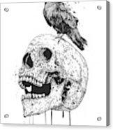 New Skull Acrylic Print