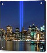 New York City 9/11 Commemoration  Acrylic Print