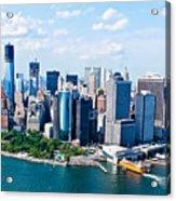 New York City Sky View Acrylic Print