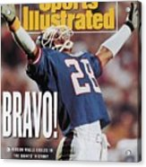 New York Giants Everson Walls, Super Bowl Xxv Sports Illustrated Cover Acrylic Print