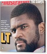 New York Giants Lawrence Taylor Sports Illustrated Cover Acrylic Print