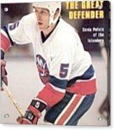 New York Islanders Denis Potvin... Sports Illustrated Cover Acrylic Print