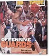 New York Knicks John Starks, 1994 Nba Eastern Conference Sports Illustrated Cover Acrylic Print