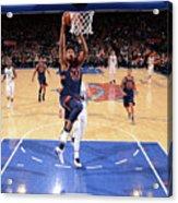 New York Knicks V Charlotte Hornets Acrylic Print