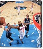 New York Knicks V Dallas Mavericks Acrylic Print