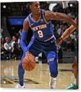 New York Knicks V San Antonio Spurs Acrylic Print