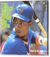 New York Mets Darryl Strawberry Sports Illustrated Cover Acrylic Print