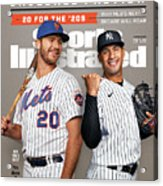 New York Mets Pete Alonso And New York Yankees Gleyber Sports Illustrated Cover Acrylic Print