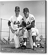 New York Mets Texas Battery Nolan Ryan Acrylic Print