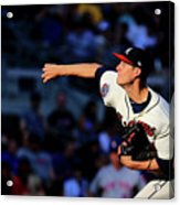 New York Mets V Atlanta Braves - Game Acrylic Print