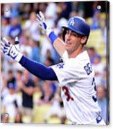 New York Mets V Los Angeles Dodgers Acrylic Print
