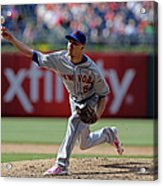 New York Mets V Philadelphia Phillies Acrylic Print