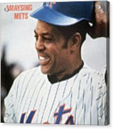New York Mets Willie Mays Sports Illustrated Cover Acrylic Print