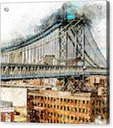New York Panorama - 29 Acrylic Print