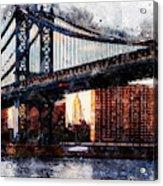 New York Panorama - 30 Acrylic Print