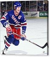 New York Rangers V Boston Bruins Acrylic Print