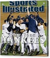 New York Yankees, 2009 World Series Sports Illustrated Cover Acrylic Print