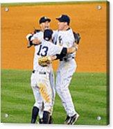 New York Yankees Alex Rodriguez, Derek Acrylic Print
