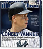 New York Yankees Alex Rodriguez Sports Illustrated Cover Acrylic Print