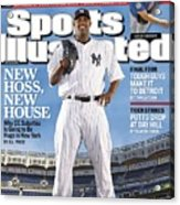 New York Yankees Cc Sabathia Sports Illustrated Cover Acrylic Print
