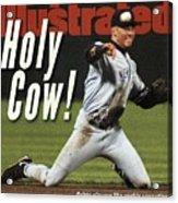 New York Yankees Derek Jeter, 1996 Al Championship Series Sports Illustrated Cover Acrylic Print