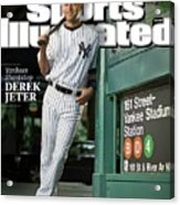 New York Yankees Derek Jeter, 2009 Sportsman Of The Year Sports Illustrated Cover Acrylic Print