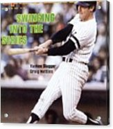 New York Yankees Graig Nettles, 1981 Al Championship Series Sports Illustrated Cover Acrylic Print