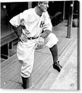New York Yankees Lou Gehrig Acrylic Print