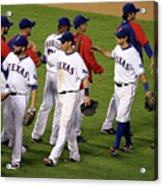 New York Yankees V Texas Rangers, Game 2 Acrylic Print