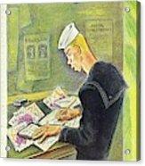 New Yorker February 14th 1942 Acrylic Print