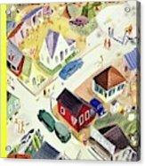 New Yorker July 19th 1947 Acrylic Print
