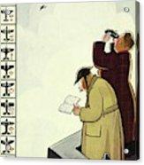 New Yorker June 13th 1942 Acrylic Print