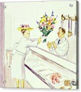 New Yorker June 22nd 1946 Acrylic Print