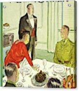 New Yorker November 27th 1943 Acrylic Print