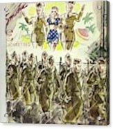 New Yorker November 7th 1942 Acrylic Print
