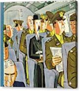 New Yorker September 18th 1943 Acrylic Print
