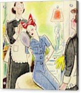 New Yorker September 4th 1943 Acrylic Print