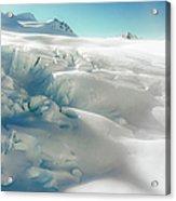 New Zealand - Dreamy Glacier Landscape Acrylic Print