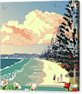 New Zealand Orewa Beach Acrylic Print
