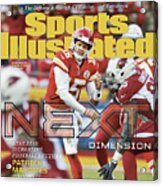 Next Dimension Andy Reid Is Creating Footballs Future Sports Illustrated Cover Acrylic Print