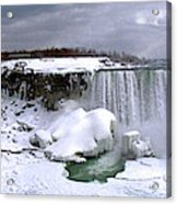 Niagara Falls Late Winter Acrylic Print