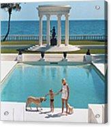 Nice Pool Acrylic Print