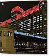 Night City Colors Acrylic Print